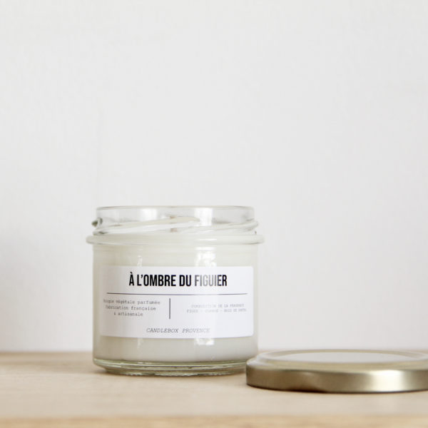 bougie figue candlebox provence